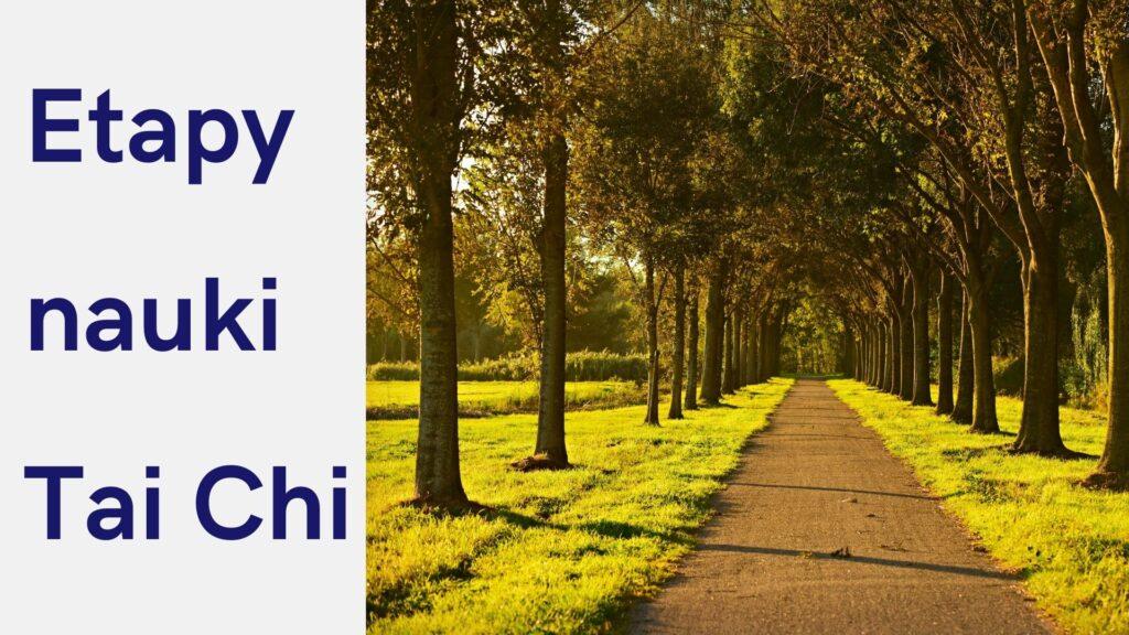 Etapy nauki Tai Chi